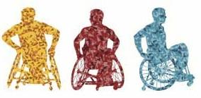 men in wheelchairs